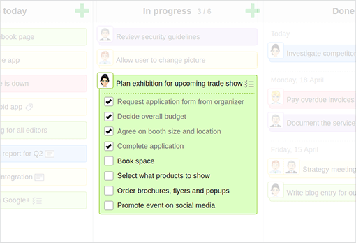 Split tasks into subtasks